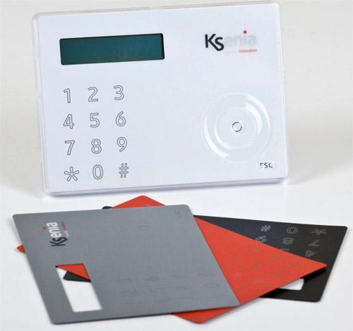 Ksenia Ergo LCD control panel
